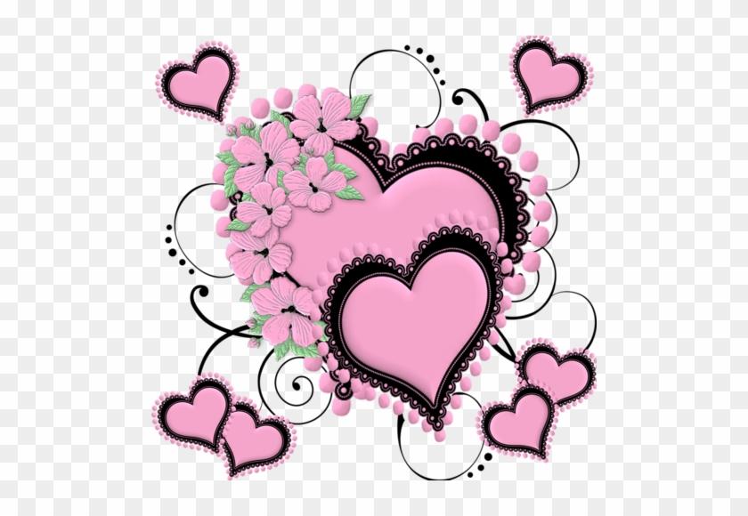 Tubes St Valentin Saint Valentin Coeur Rose Free Transparent Png Clipart Images Download