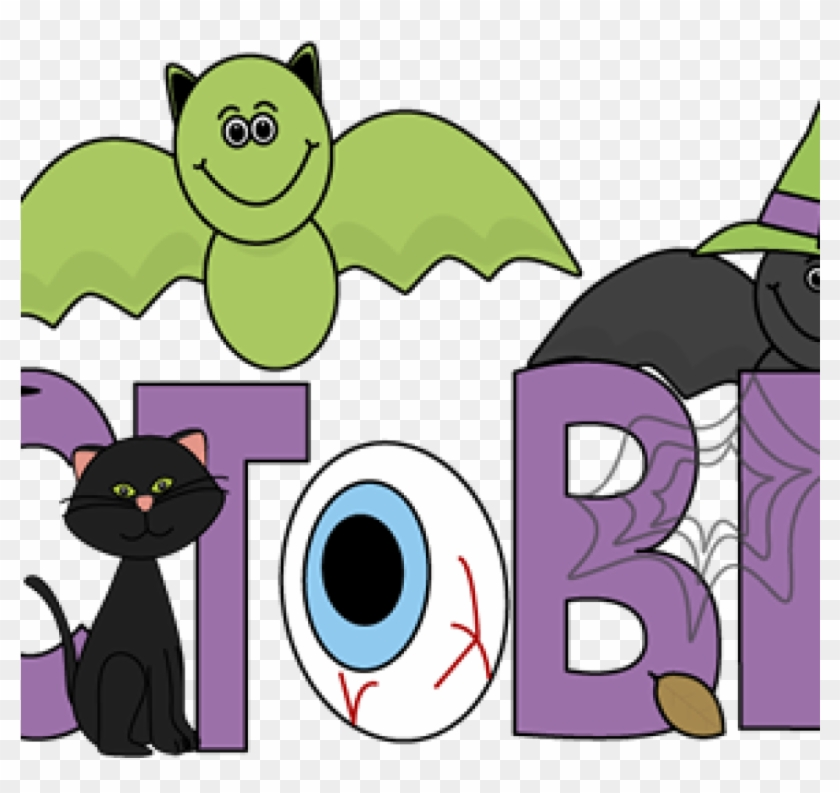 Clip Art For October Free Month Clip Art Month Of October - Month Of October Cartoon #1356601