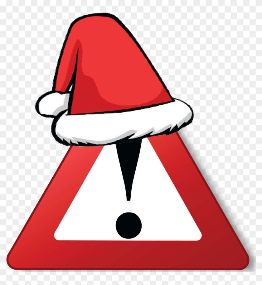 Maintain Warehouse Safety During The Peak Holiday Season - Transparent Background Santa Hat Cartoon #1357234