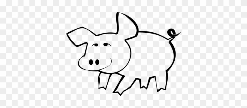 Guinea Pig Drawing Coloring Book Piggy Bank - Clip Art #1357254