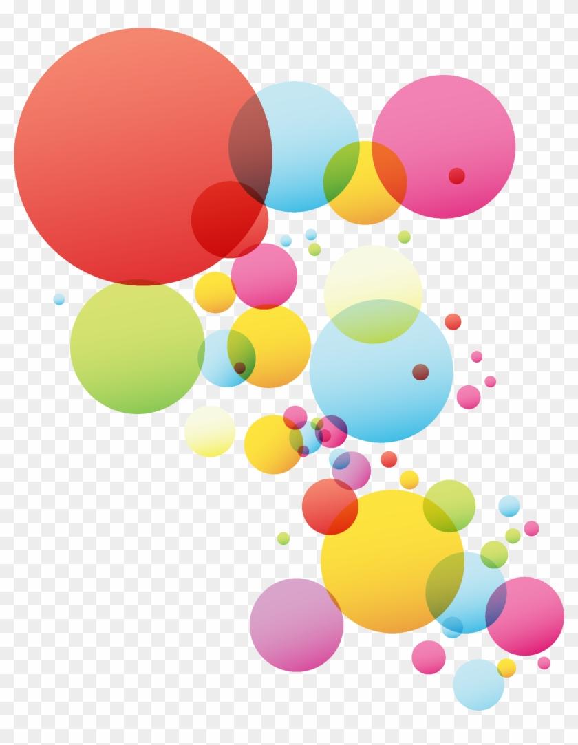 Kisspng Circle Color Clip Art Colored Circles Bubble - Circle Vector
