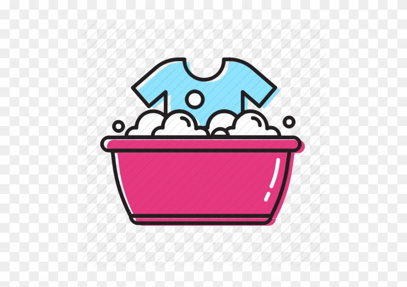 Clipart Resolution 512*512 - Hand Wash Clothes Icon #1360490