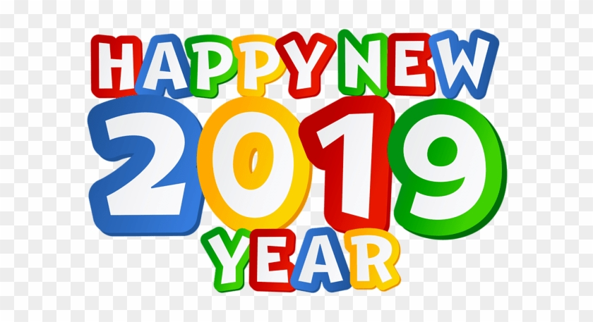 As The New Year Is About To Begin, I Want You To Look - Happy New Year 2019 Png #1360963