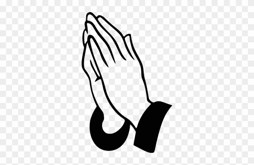 Prayer List For Holy Week - Praying Hands Clipart #1361387