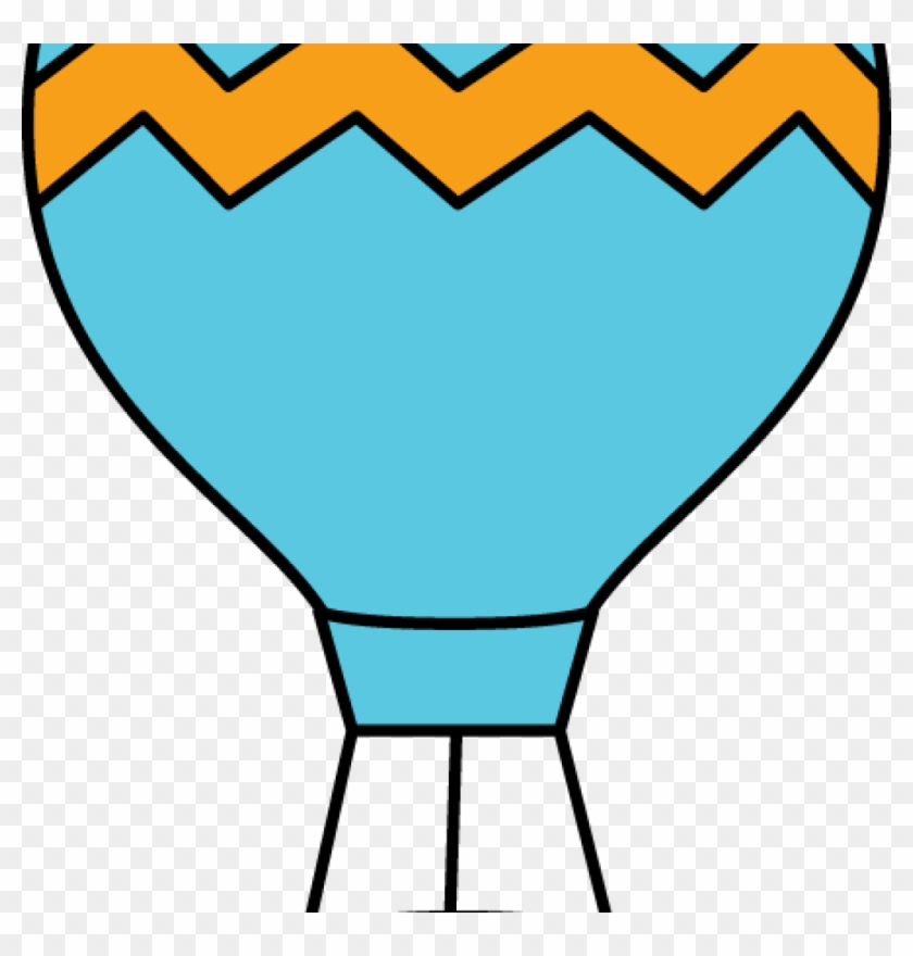 Hot Air Balloon Clip Art Hot Air Balloon Clip Art Hot - Cute Hot Air Balloon Drawing #1362222