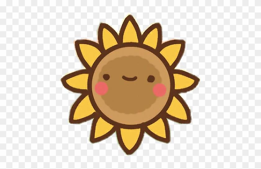 Clawbert Cute Kawaii Cartoon Sunflower Flower Pretty - Cute Cartoon