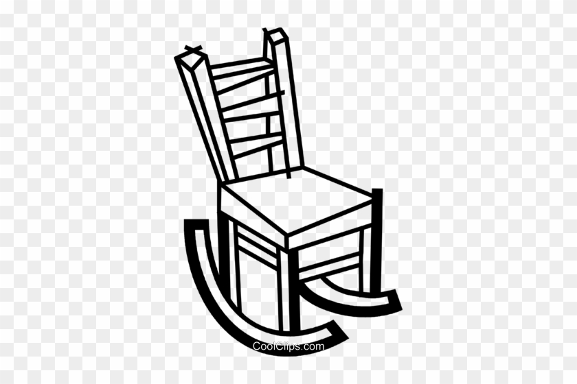 Rocking Chairs Royalty Free Vector Clip Art Illustration Chair