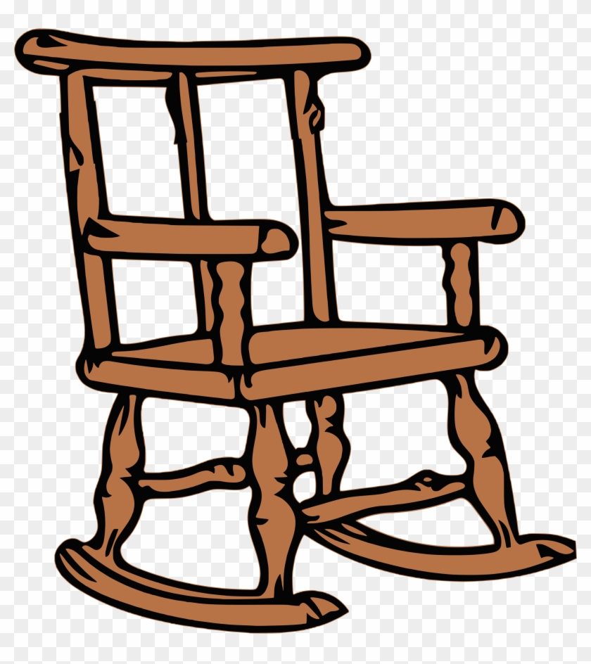 Big Image - Rocking Chair Clipart #1362829