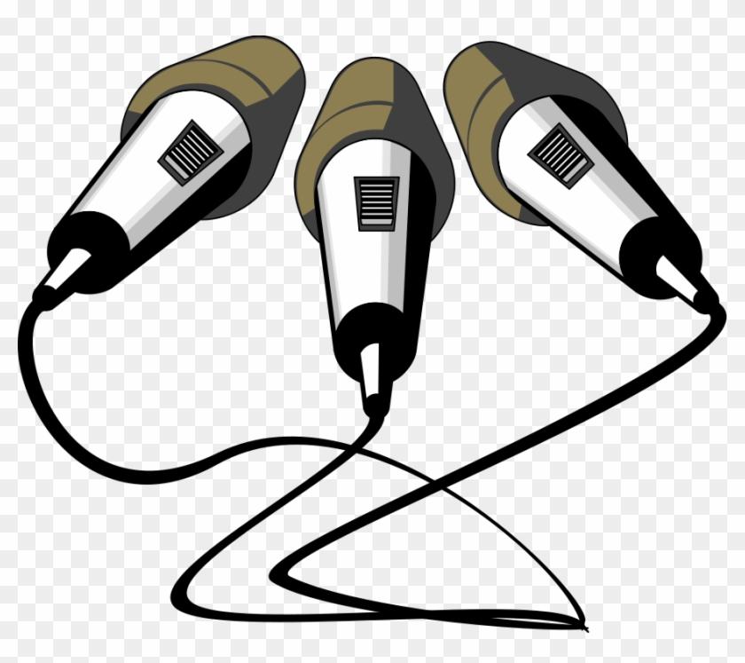 Other Popular Clip Arts - Microphones Clip Art Png #211527