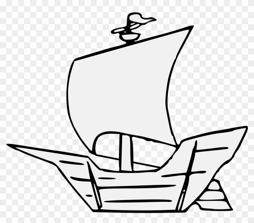 Caravel Caravel Easy Drawing Free Transparent Png Clipart Images