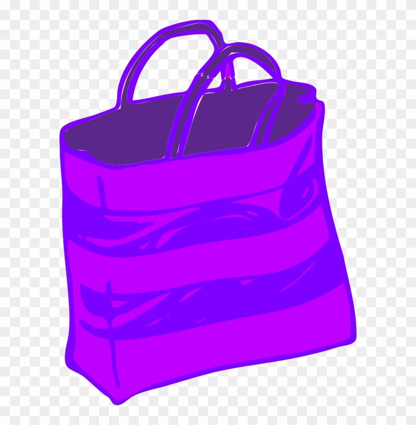 Shopping - Shopping Bag In Purple #211660