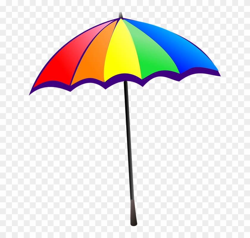 Beach Umbrella Clipart Free - Sun Umbrella Clip Art - Free ...