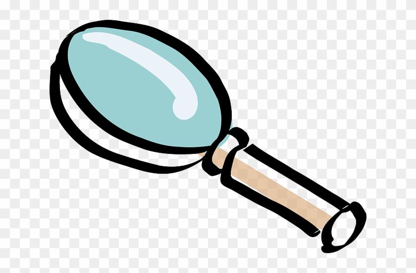 Magnifying, Drawing, Cartoon, Free, Detective - Melonheadz Magnifying Glass #211896