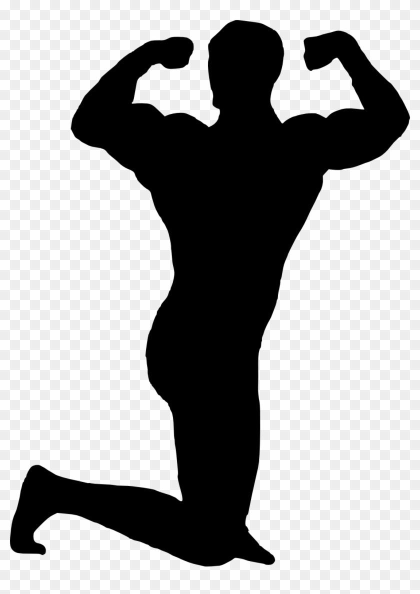 """Bodybuilder Silhouette - Mitch """"muscle Man"""" Sorenstein #212343"""