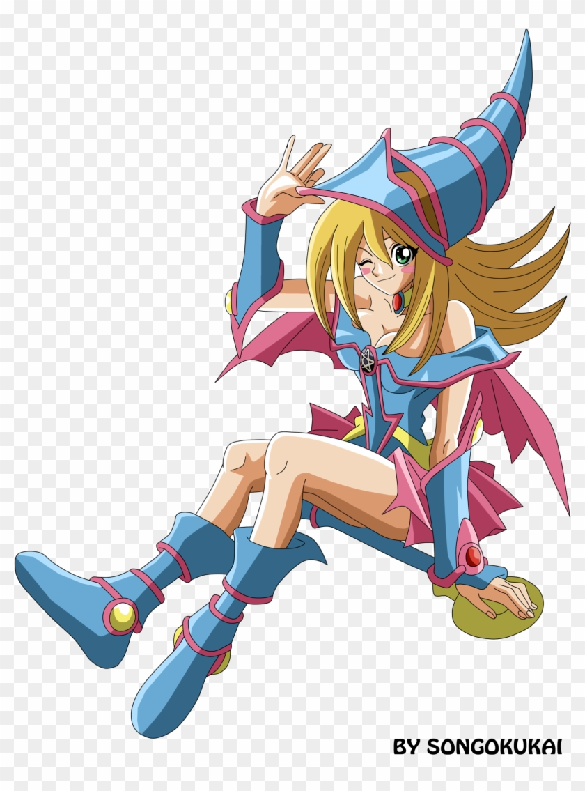 Dark Magician Girl By Krizeii Dark Magician Girl By - Dark Magician Girl Roll Exe #212552