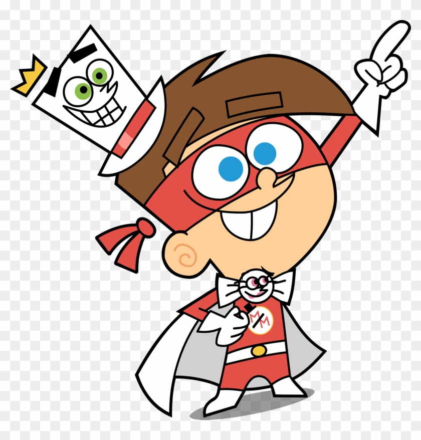 Timmy Turner/the Masked Magician Vector - Fairly Oddparents The Masked Magician #212558