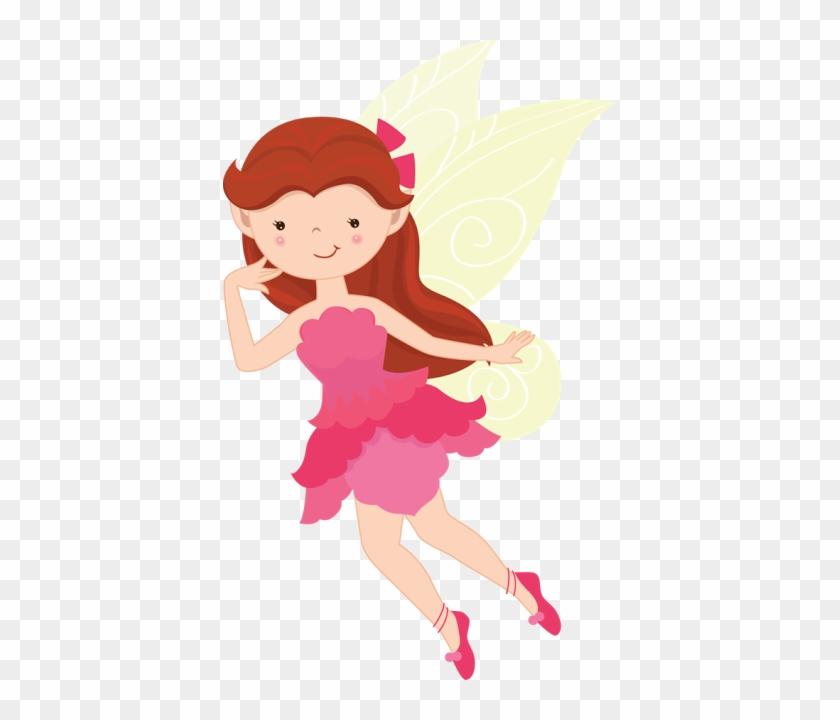 Fadas & Gnomos - Woodland Fairy Clip Art #212661