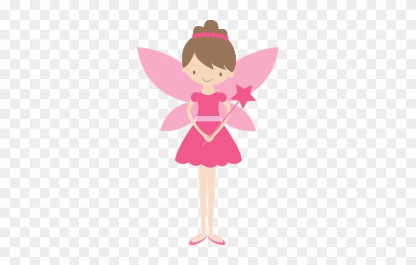 Princesas E Fadas - Thank You Very Much Pink Fairy #212693