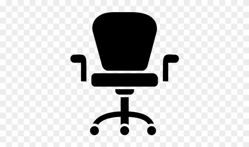 Office Chair Clip Art At Clker - Upper Body Stretches At Office #212739
