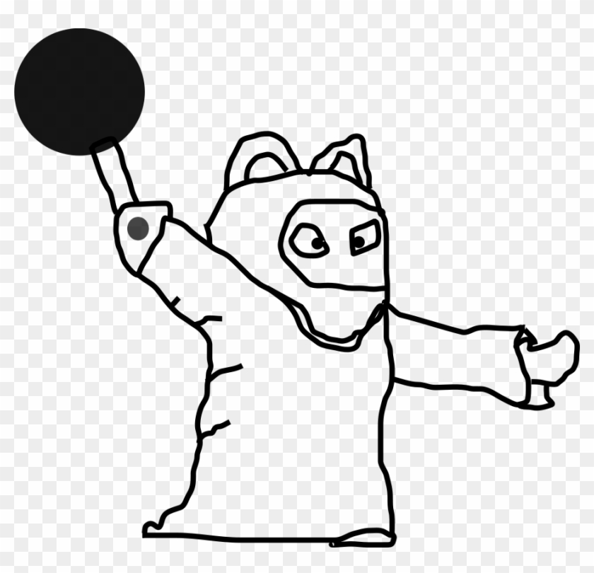 As Magician Large 900pixel Clipart, As Magician Design - Person Outline #212893