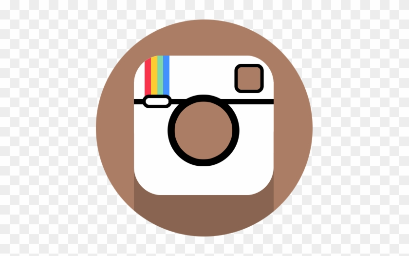 Instagram Logo Small Circle #212898