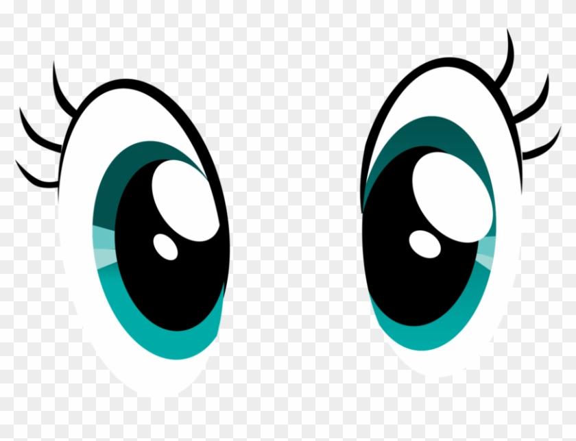 Eye Vector By Thethirdmoon36 - Cartoon Eyes With Lashes #212956