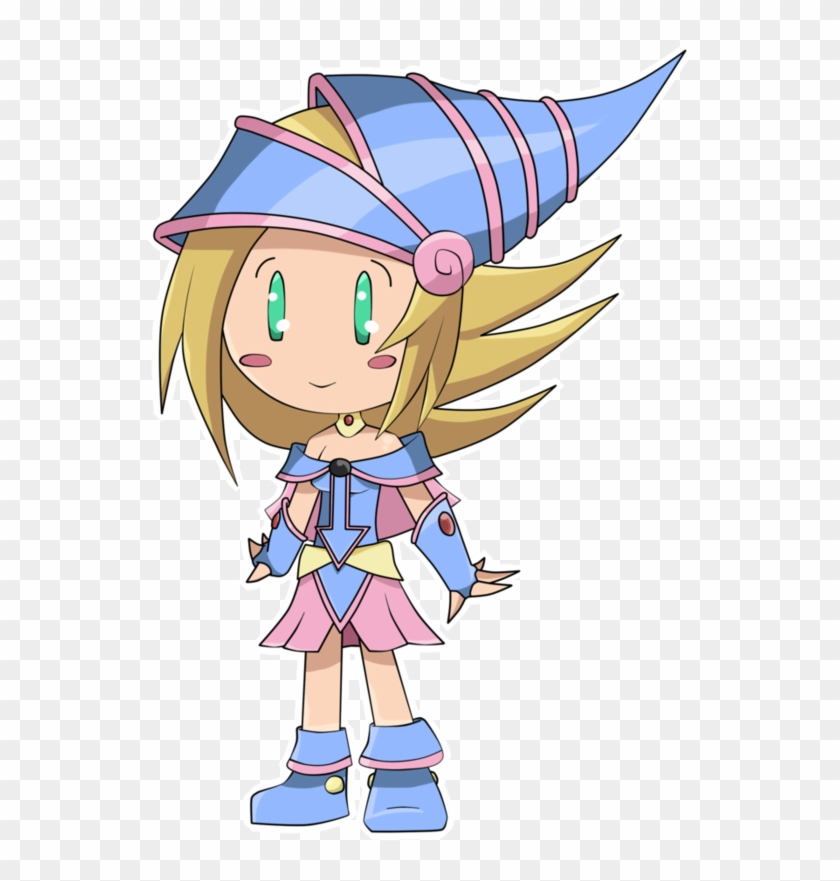 Dark Magician Girl Chibi By Shikicreations - Dark Magician Girl Chibi #213292