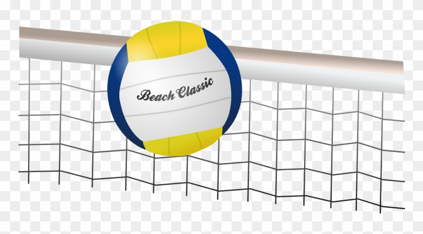 Clipart Playing Volleyball Cake Ideas And Designs - Beach Volleyball Background For Powerpoint #213325