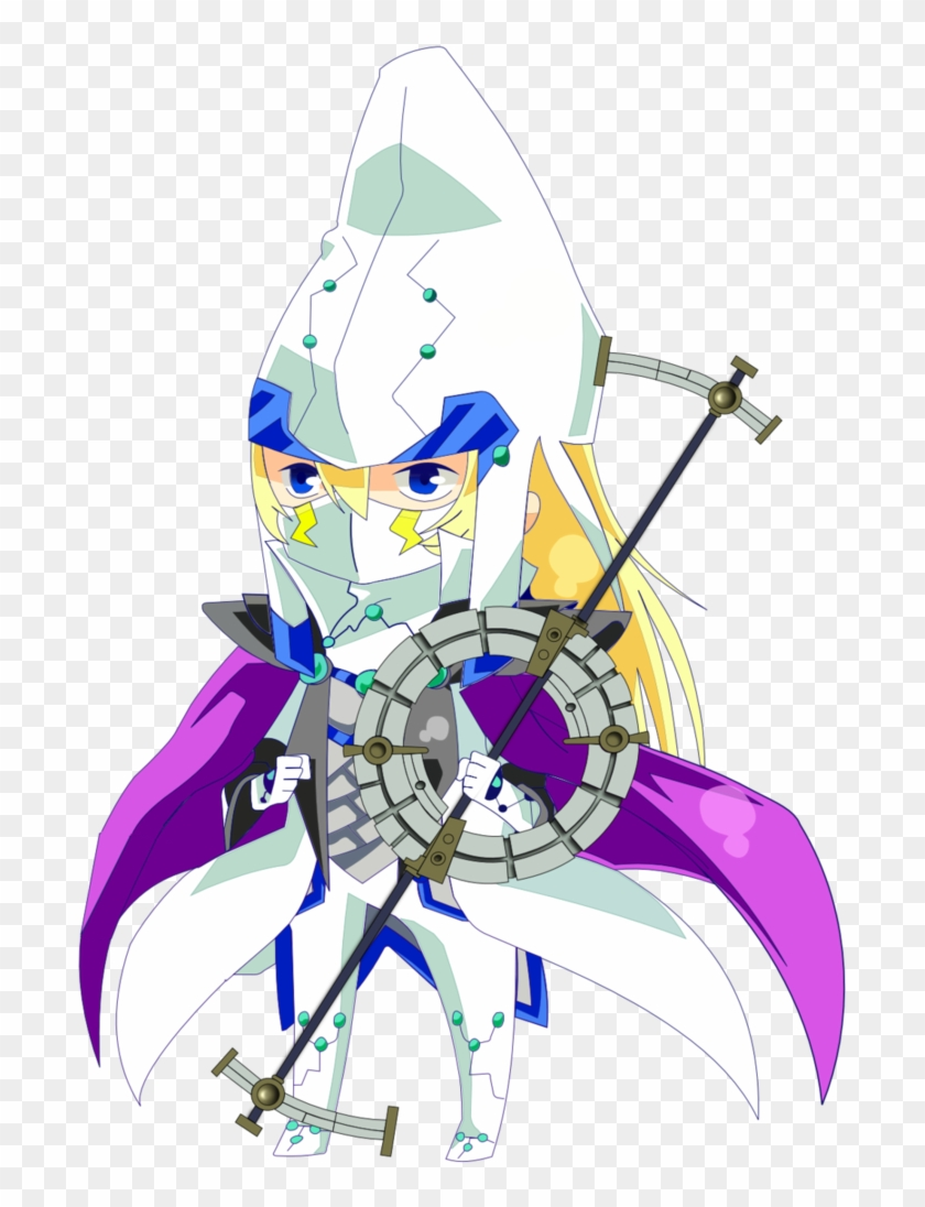 Chibi Stargazer Magician By Animeuploaderking - Yugioh Stargazer Magician Png #213350