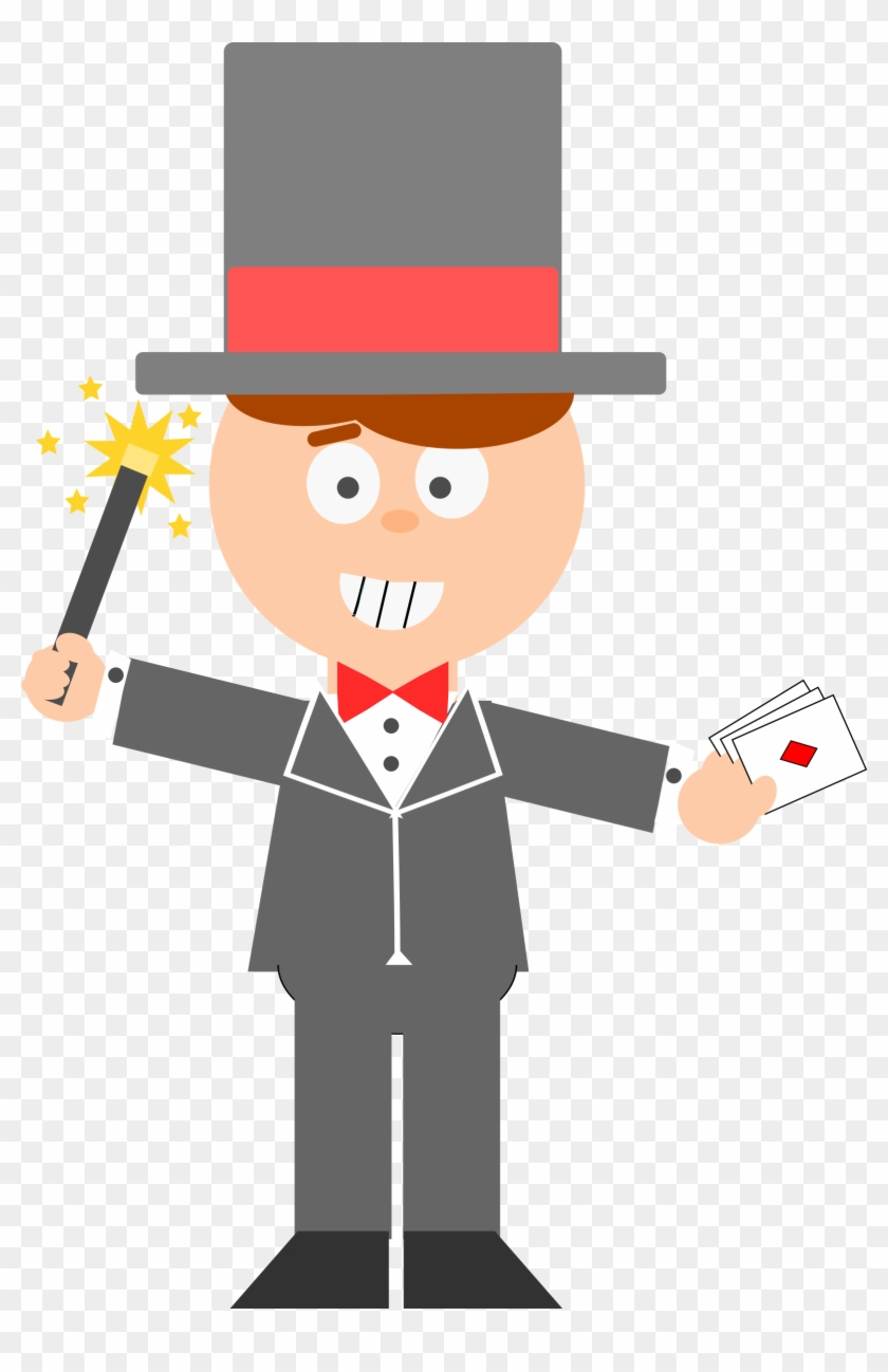 Clipart Cartoon Magician - Magician Cartoon Png #213441