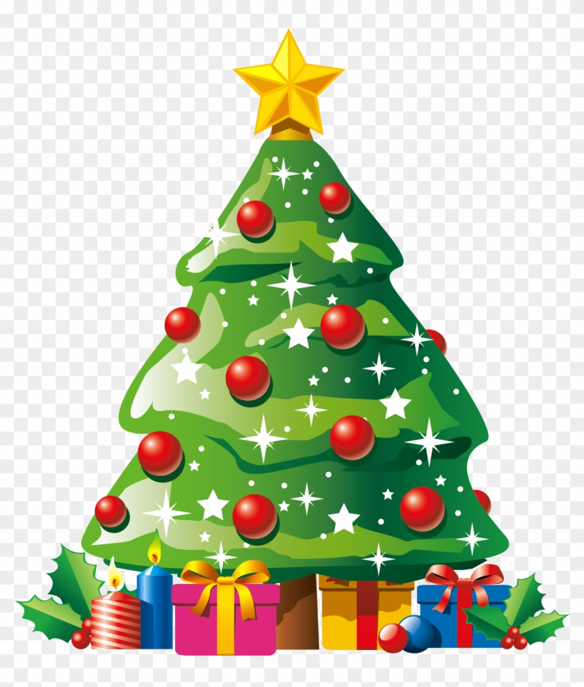 clipart cartoon christmas tree free download best christmas tree clip art png
