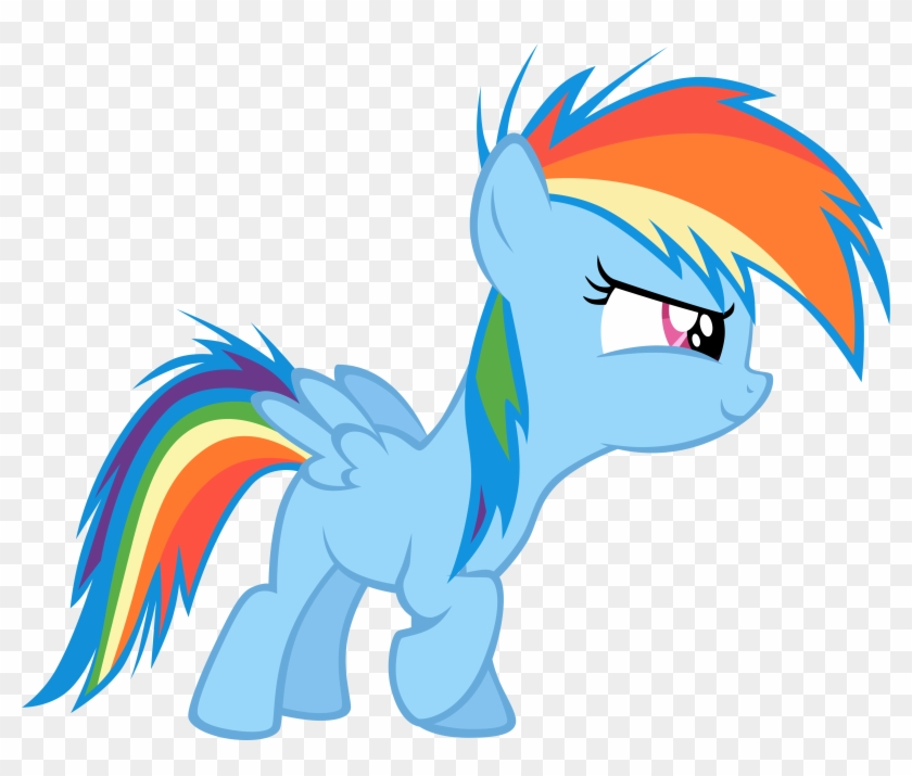 Vector Filly Rainbowdash-start By Kyss - Friendship Is Magic Rainbow Dash #213614
