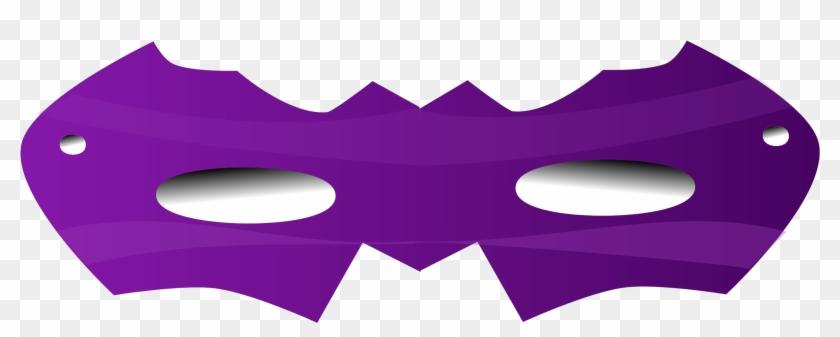 Mask Clipart Eye Mask - Purple Eye Mask Png #213979