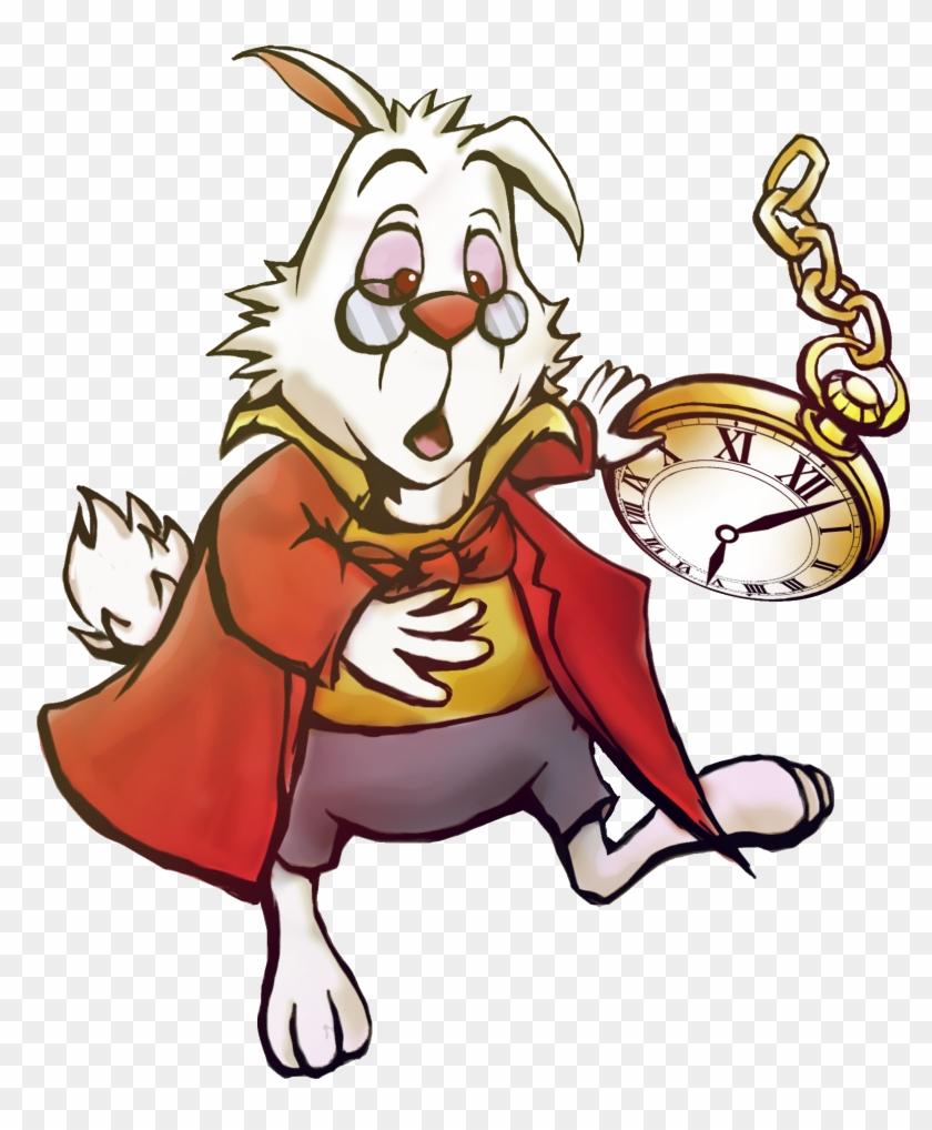 Alice In Wonderland White Rabbit Clipart Collection - Alice In Wonderland Rabbit #214027