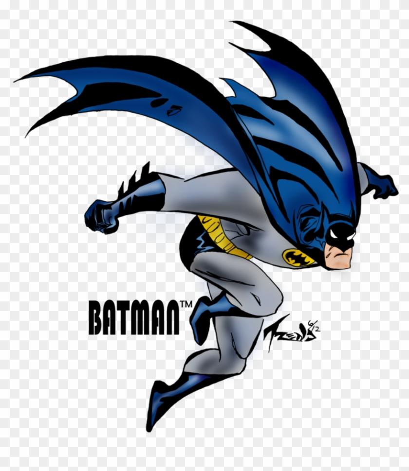 Batman Clipart Flying - Batman The Animated Series - Free