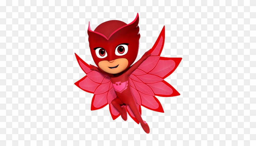 Pj Masks 4 Owlette Edible Birthday Cake Topper Or Cupcake