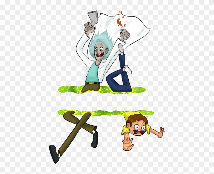 Rick And Morty Hd Clipart - Rick And Morty Png #214389
