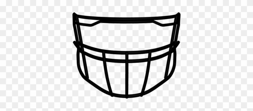 Masks Clipart Football - Riddell 360-2bdc-lw Face Mask #214855