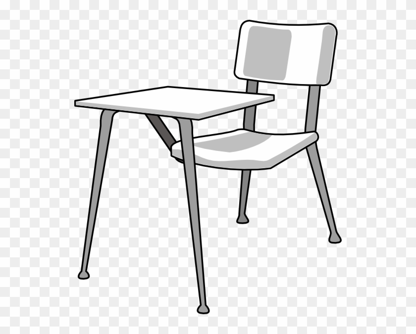 Furniture School Desk Clip Art - School Desk Drawing #215061