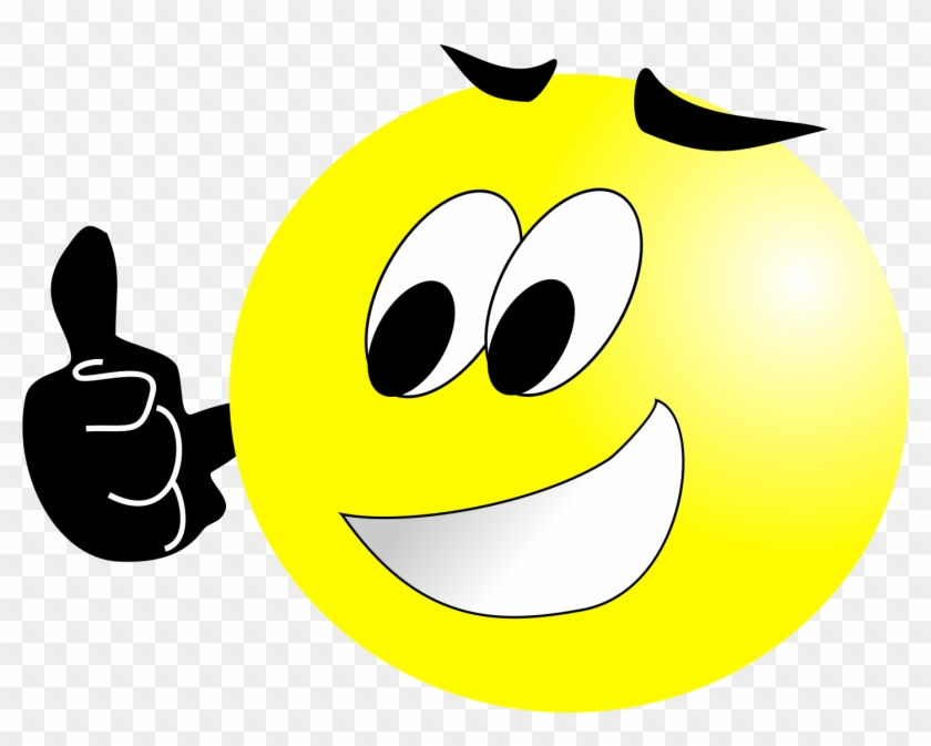 Well Done - Smiling Face Clip Art Png #215243