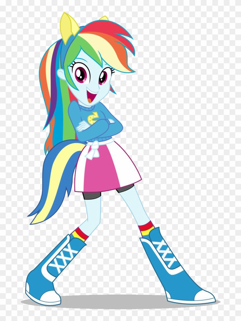 Rainbow Dash Equestria Girls Png Image - My Little Pony Rainbow Dash Equestria Girls #215266