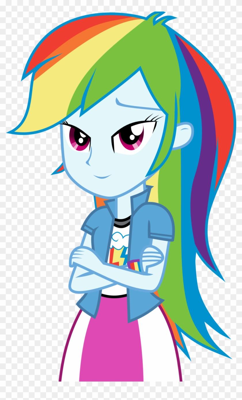 - Equestria Girls Rainbow Dash By Nero-narmeril - My Little Pony