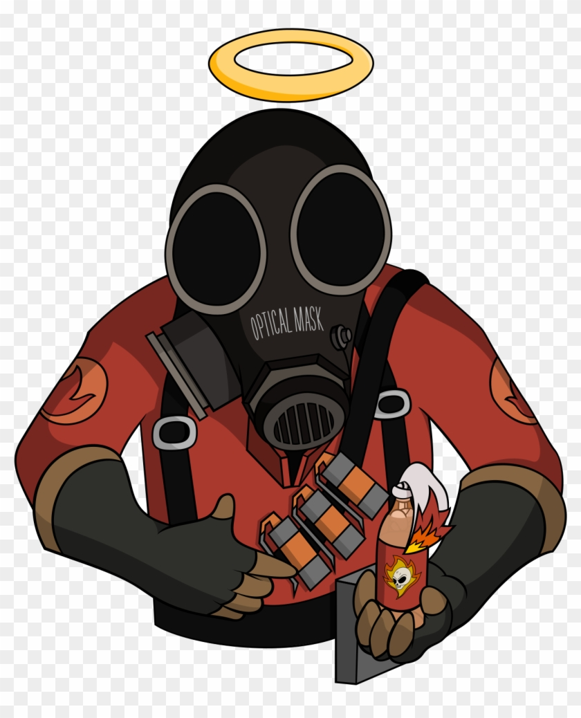 Tf2 Spray Buoyancy Compensator Free Transparent Png Clipart