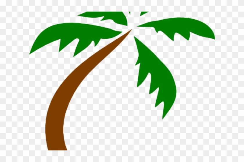 Island Clipart Transparent Green Coconut Tree Vector Transparent