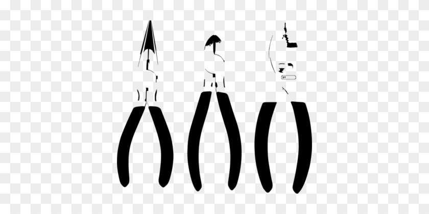 Computer Icons Drawing Line Art - Alicate De Bico Vetor #1363051