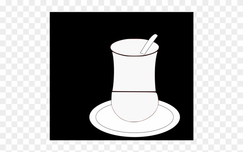 Coffee Cup Saucer Teacup Measuring Spoon - Saucer #1364192