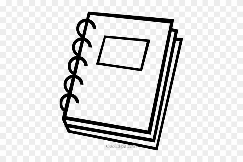 School Book Royalty Free Vector Clip Art Illustration - School Book #1364219