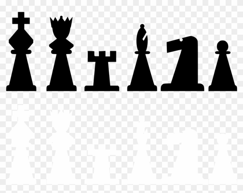 Chess Piece Rook Knight Pawn - Chess Pieces Clip Art - Free