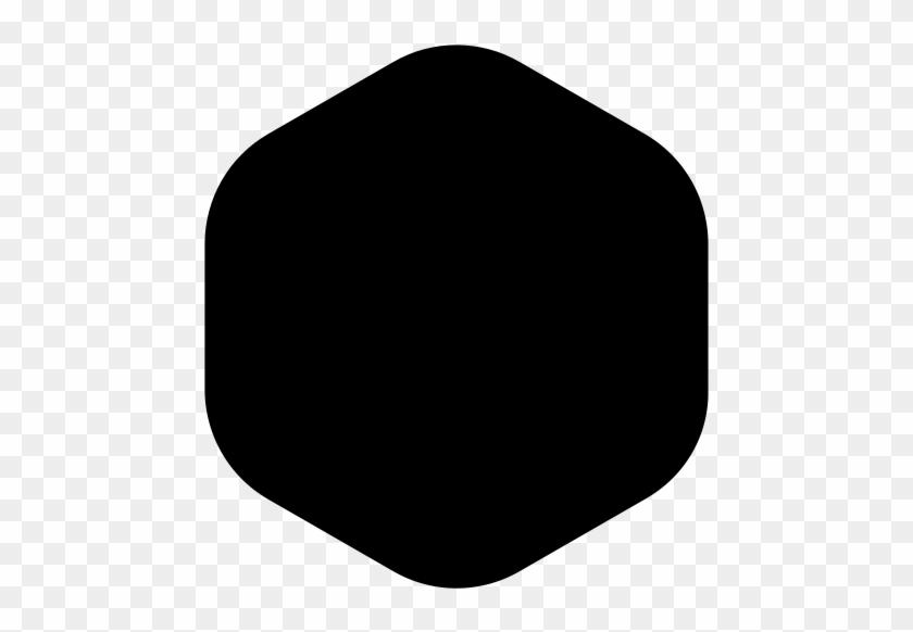 Logo Bg Hexagon Application Icon Bg Icon Black Dot Free