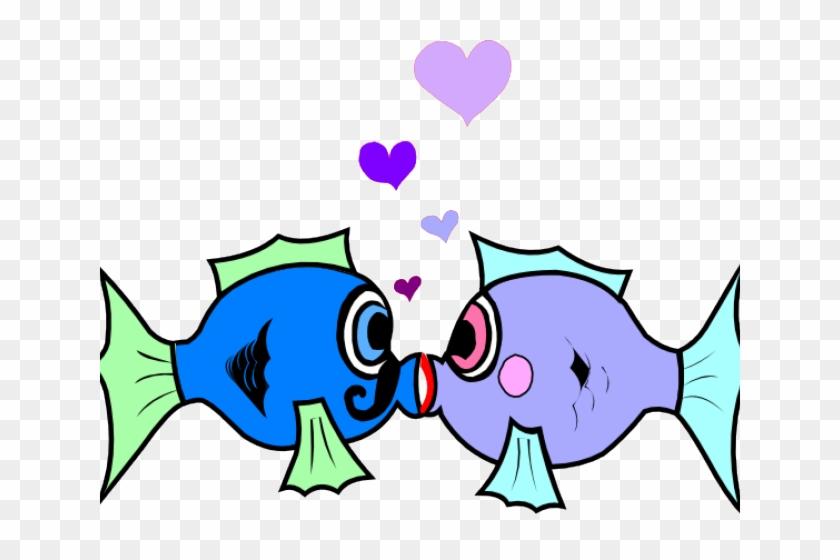 Cartoons Of Kissing Fish #1365002